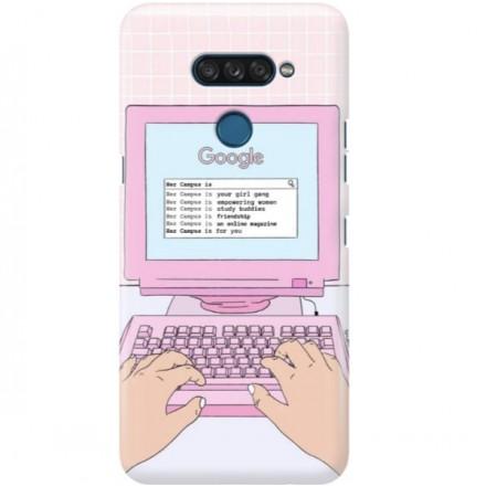 ETUI CLEAR NA TELEFON LG K50S COMPUTER