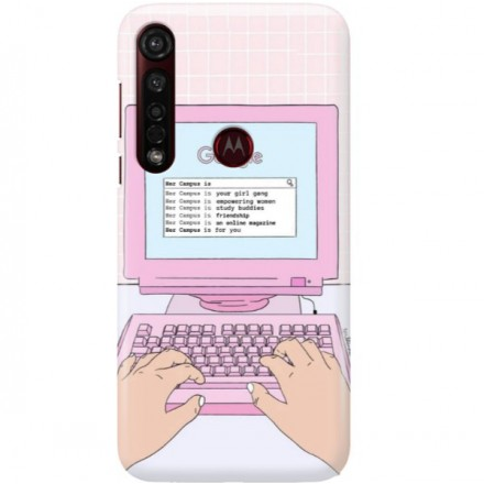 ETUI CLEAR NA TELEFON MOTOROLA MOTO G8 PLUS COMPUTER
