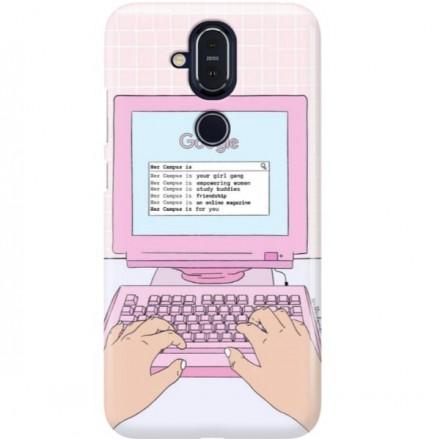 ETUI CLEAR NA TELEFON NOKIA 8.1 / X7 COMPUTER