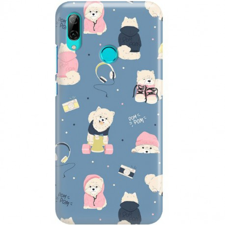 ETUI CLEAR NA TELEFON HUAWEI P SMART Z / HONOR 9X CUTE DOGS 1
