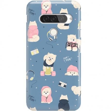 ETUI CLEAR NA TELEFON LG G8S / G8S THINQ CUTE DOGS 1