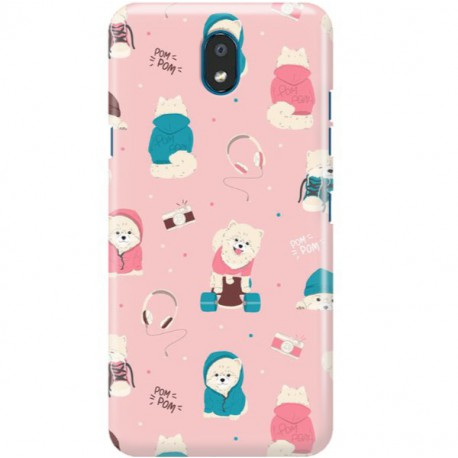 ETUI CLEAR NA TELEFON LG K30 2019 CUTE DOGS 2