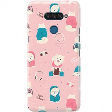ETUI CLEAR NA TELEFON LG K50S CUTE DOGS 2