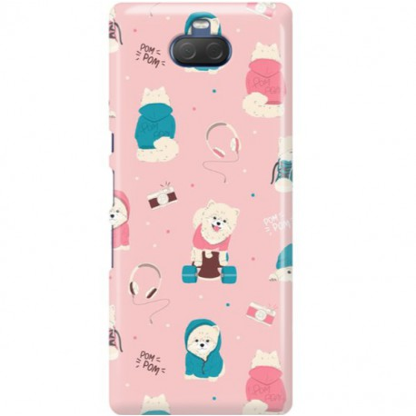 ETUI CLEAR NA TELEFON SONY XPERIA 10 PLUS CUTE DOGS 2