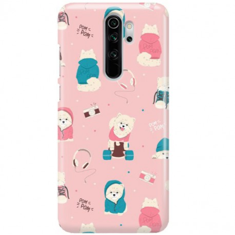 ETUI CLEAR NA TELEFON XIAOMI REDMI NOTE 8 PRO CUTE DOGS 2
