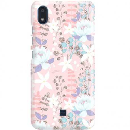 ETUI CLEAR NA TELEFON LG K20 FLOWERS