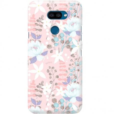 ETUI CLEAR NA TELEFON LG K40S FLOWERS