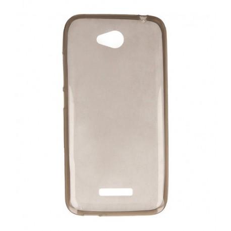 ETUI CLEAR NA TELEFON HTC DESIRE 616 CZARNY