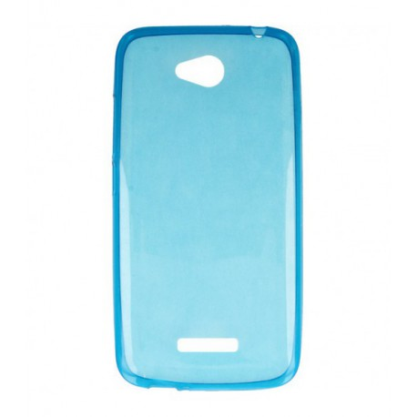 ETUI CLEAR NA TELEFON HTC DESIRE 616 NIEBIESKI