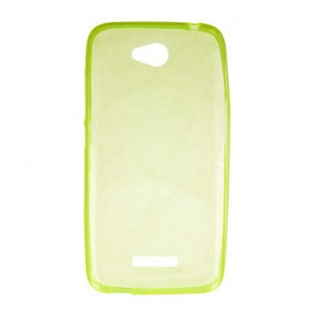 ETUI CLEAR NA TELEFON HTC DESIRE 616 ZIELONY