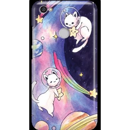 Etui na telefon Xiaomi Redmi Note 5A Prime Kosmiczne Koty