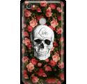 Etui na telefon Xiaomi Redmi Note 5A Prime Róże Czaszka