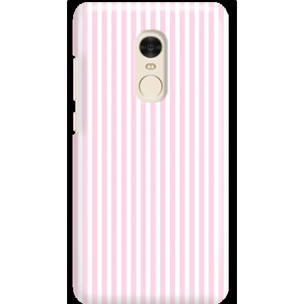 Etui na telefon Xiaomi Redmi Note 4X Candy Różowe Paski