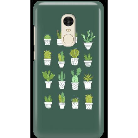 Etui na telefon Xiaomi Redmi Note 4X Kaktusy