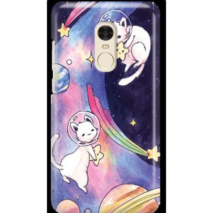 Etui na telefon Xiaomi Redmi Note 4X Kosmiczne Koty