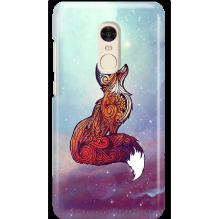Etui na telefon Xiaomi Redmi Note 4X Kosmiczny Lis