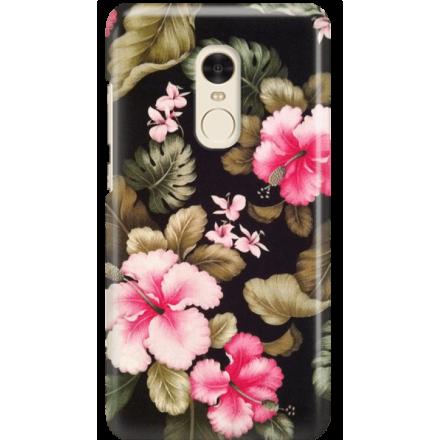 Etui na telefon Xiaomi Redmi Note 4X Kwiatowy Raj