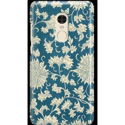 Etui na telefon Xiaomi Redmi Note 4X Kwiaty Ornamenty