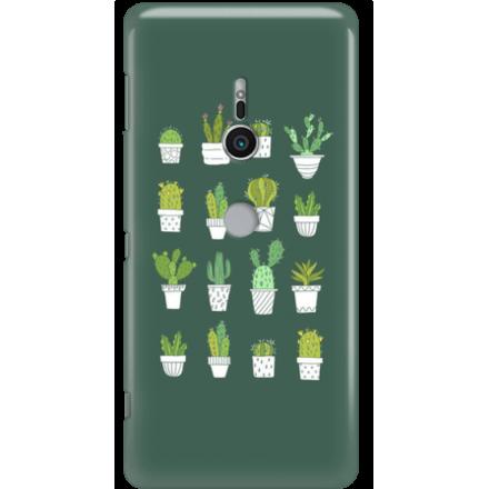 Etui na telefon Sony Xperia XZ2 Kaktusy