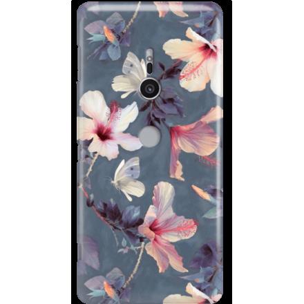 Etui na telefon Sony Xperia XZ2 Kwiatowy Ogród