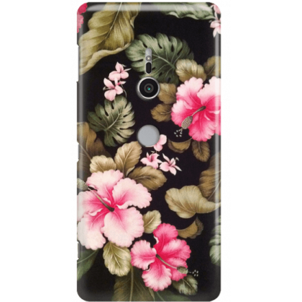 Etui na telefon Sony Xperia XZ2 Kwiatowy Raj