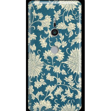 Etui na telefon Sony Xperia XZ2 Kwiaty Ornamenty