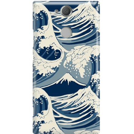 Etui na telefon Sony Xperia XA2 Japonskie Fale