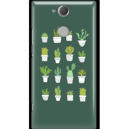 Etui na telefon Sony Xperia XA2 Kaktusy