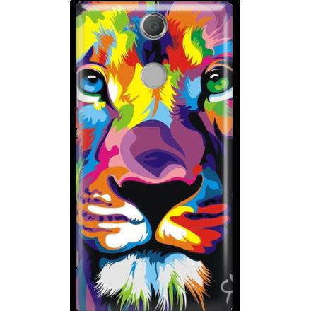 Etui na telefon Sony Xperia XA2 Kolorowy Lew