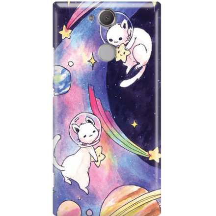 Etui na telefon Sony Xperia XA2 Kosmiczne Koty