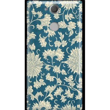 Etui na telefon Sony Xperia XA2 Kwiaty Ornamenty