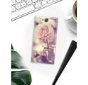 Etui na telefon Sony Xperia XA2 Pastelowa Róża