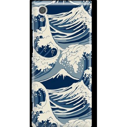 Etui na telefon Sony Xperia XA1 Japonskie Fale