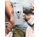 Etui na telefon Sony Xperia XA1 Jeleń Geometryczny