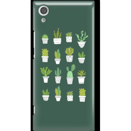 Etui na telefon Sony Xperia XA1 Kaktusy