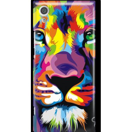 Etui na telefon Sony Xperia XA1 Kolorowy Lew