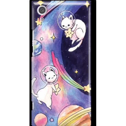 Etui na telefon Sony Xperia XA1 Kosmiczne Koty