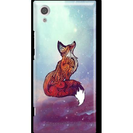 Etui na telefon Sony Xperia XA1 Kosmiczny Lis