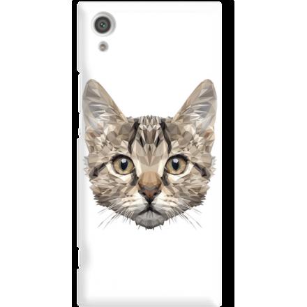 Etui na telefon Sony Xperia XA1 Kot Geometryczny