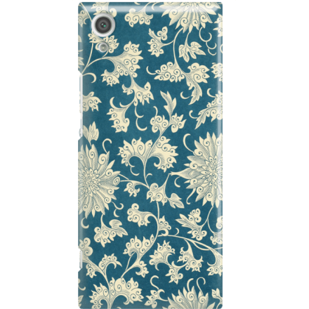 Etui na telefon Sony Xperia XA1 Kwiaty Ornamenty