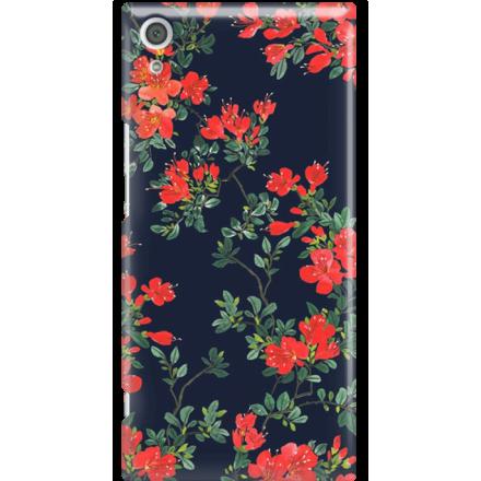 Etui na telefon Sony Xperia XA1 Ultra Czerwone Kwiaty