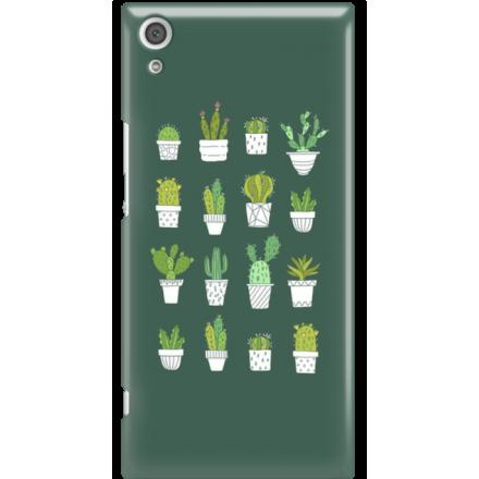 Etui na telefon Sony Xperia XA1 Ultra Kaktusy