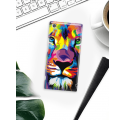 Etui na telefon Sony Xperia XA1 Ultra Kolorowy Lew