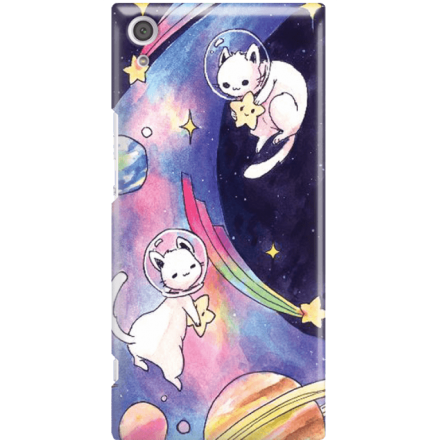 Etui na telefon Sony Xperia XA1 Ultra Kosmiczne Koty