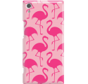 Etui na telefon Sony Xperia XA1 Ultra Różowe Flamingi
