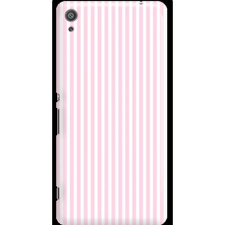 Etui na telefon Sony Xperia XA Candy Różowe Paski
