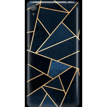 Etui na telefon Sony Xperia XA Geometyczne Indygo