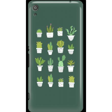 Etui na telefon Sony Xperia XA Kaktusy