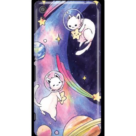 Etui na telefon Sony Xperia XA Kosmiczne Koty
