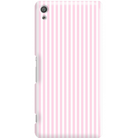Etui na telefon Sony Xperia XA Ultra Candy Różowe Paski